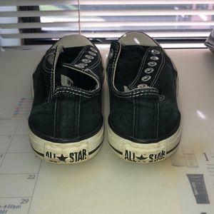 Converse Shoes - Black Low Top Converse